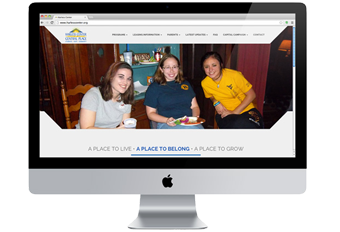 Harless Center Website Design