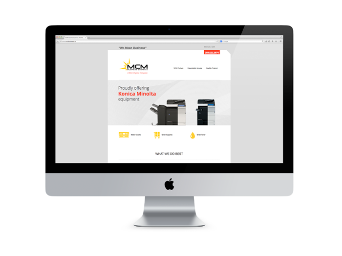 MCM Business Website Design