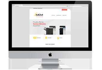 MCM Business Website Design