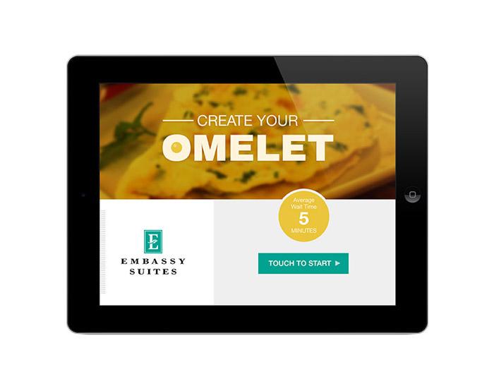 Omelet Order Kiosk