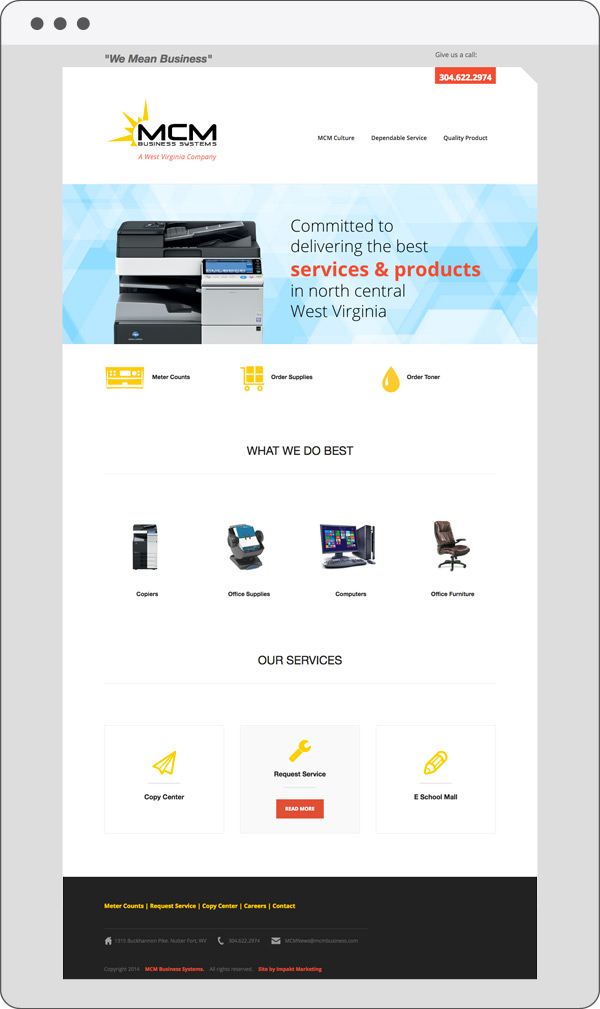 MCM-Homepage-Jake-Newman-Design