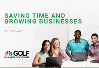 Golf Business Solutions Sales Materials