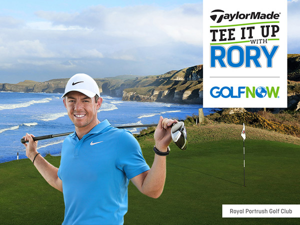 Tee it up with Rory Sweepstakes